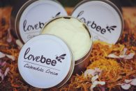 LoveBee Calendula Cream (Open)