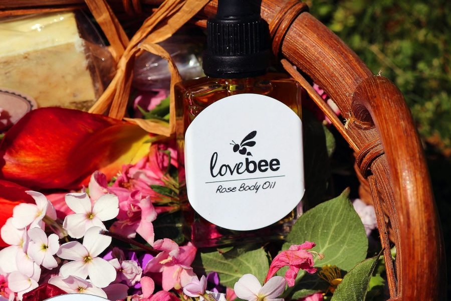 LoveBee Rose Body Oil