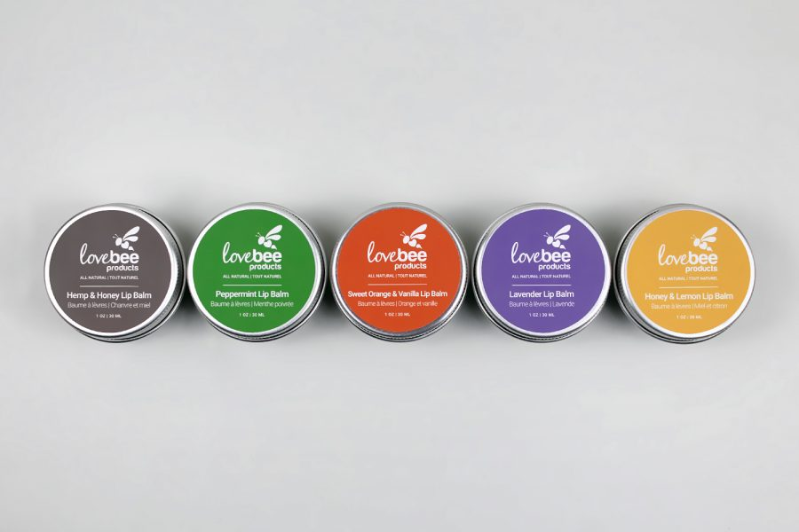 All Natural Lip Balm Lovebee Products