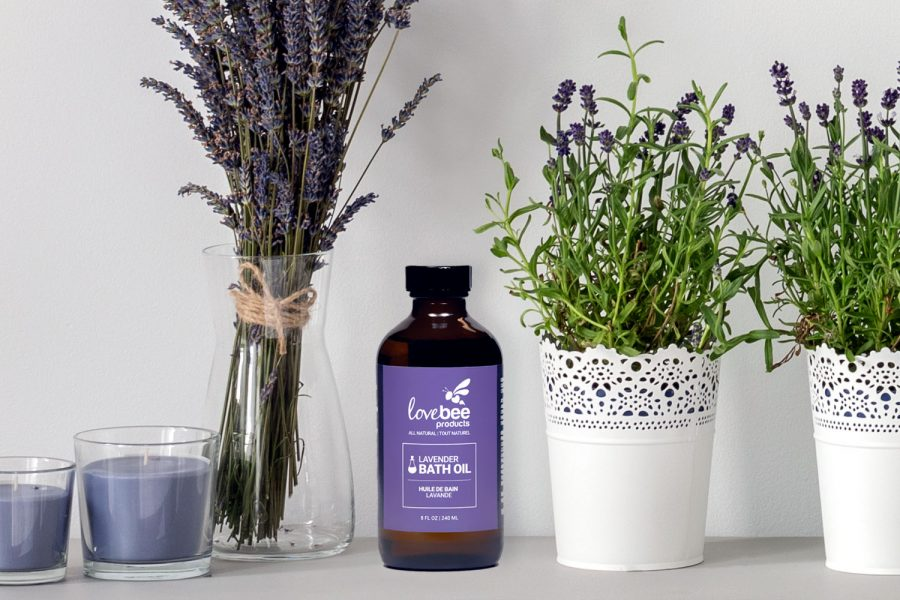 Organic Lavender Bath Oil From Lovebee Products