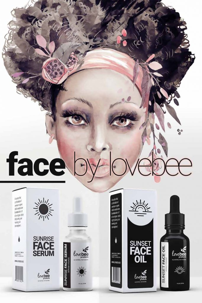 Face Skin Care Line By Lovebee