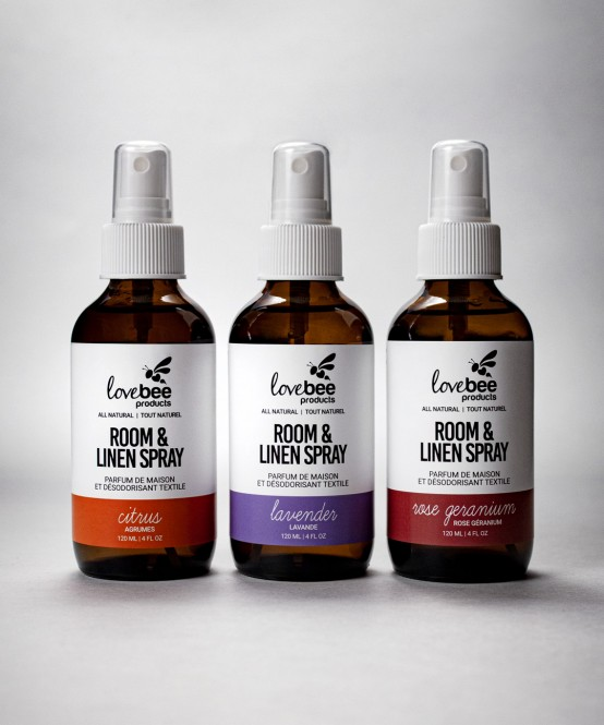 Room & Linen Spray Set - All Natural