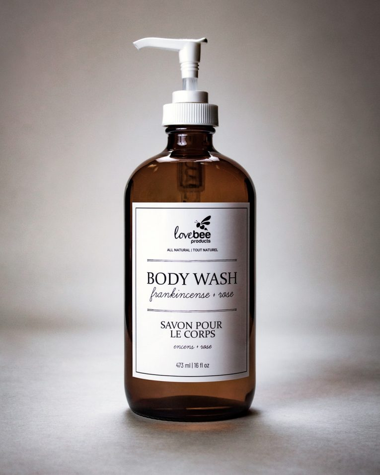 Frankincense & Rose Body Wash