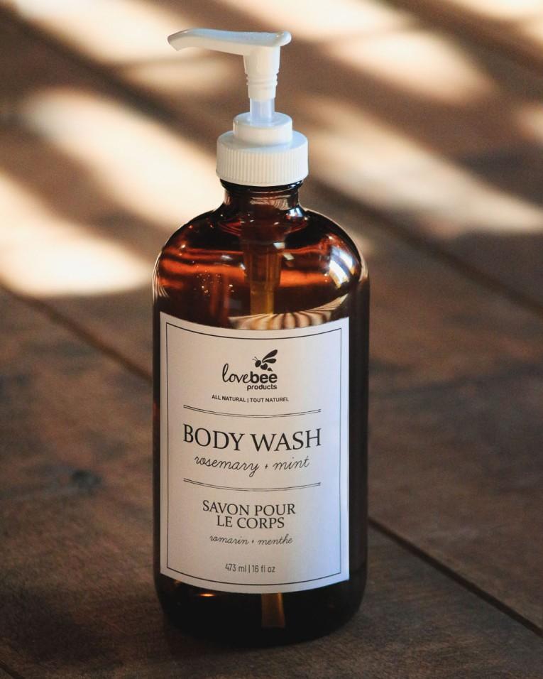 Rosemary & Mint Body Wash