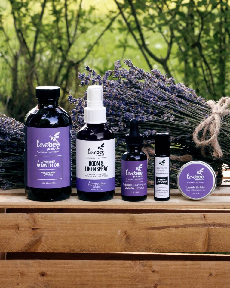 Lovebee Lavender Box Standing